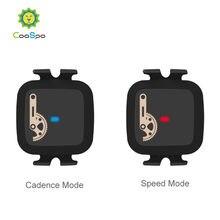 CooSpo-Sensor de cadencia para ordenador de bicicleta, Sensor de velocidad Rpm, Bluetooth 4,0, ANT +, para Wahoo, Garmin