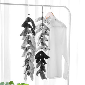 Socks Divider Hanging-Rope Storage-Organizer Drying Adjustable Non-Slip Lanyard Multifunctional