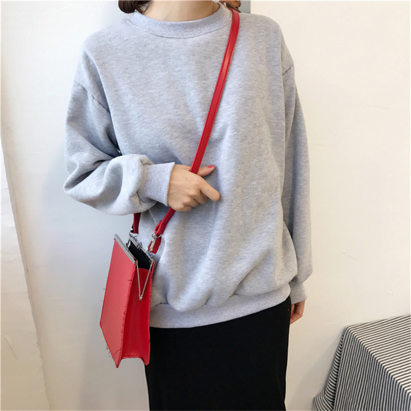 H18aa779fda5346beb92878a106a3042ad - Autumn winter Harajuku Solid Sweatshirt Women Long Sleeve Hoodie Loose Women Hoodies Sweatshirts Casual Tracksuit
