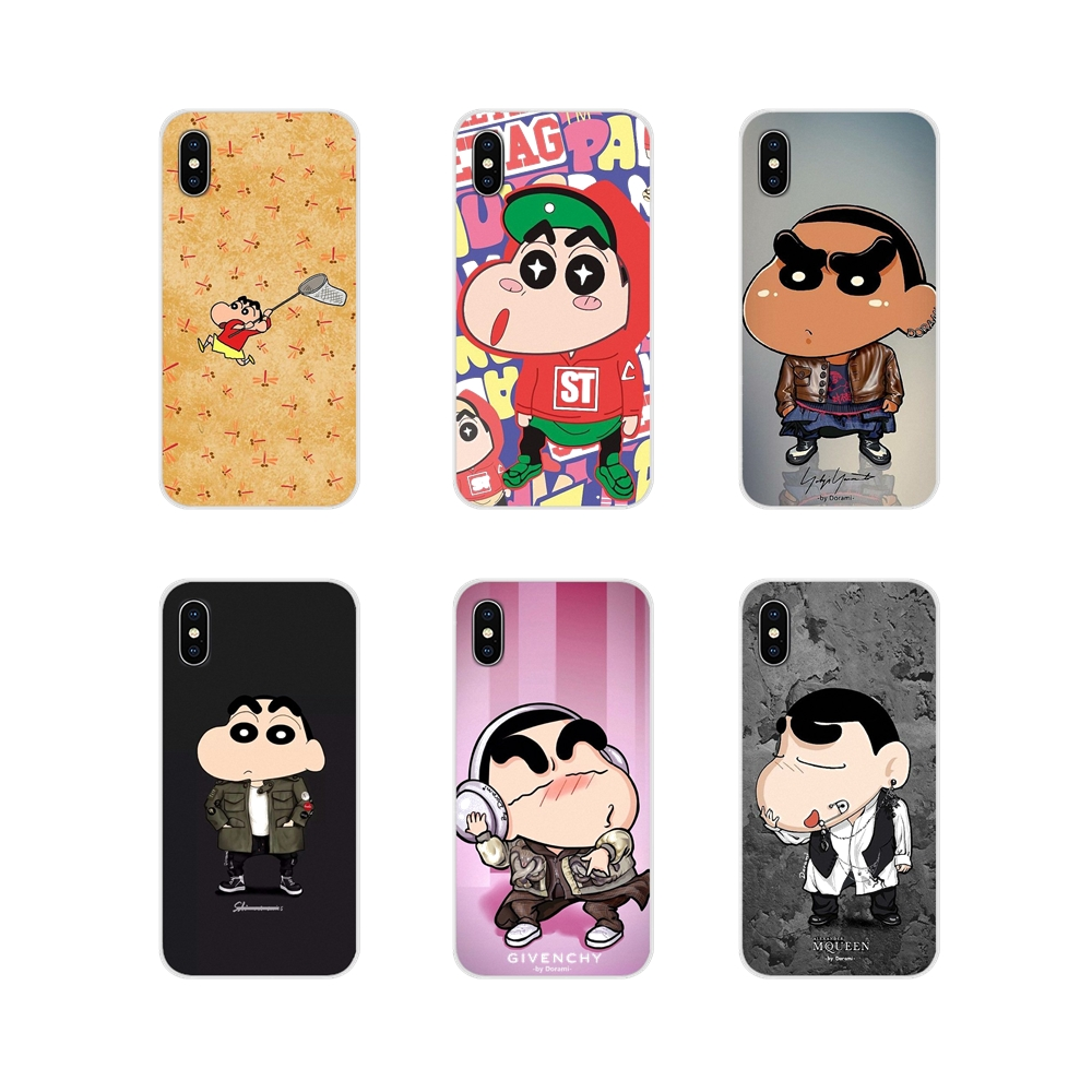 Cool Crayon Shin Chan For Oneplus 3T 5T 6T <font><b>Nokia</b></font> 2 3 5 6 8 9 <font><b>230</b></font> 3310 2.1 3.1 5.1 7 Plus 2017 2018 Soft Transparent Shell Covers image
