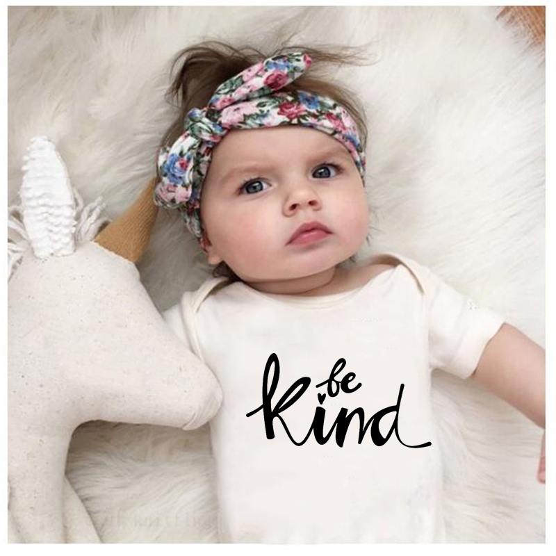 2020 Summer Toddler Infant Baby Boys Girls Cotton Onesies Kids Short Sleeve Funny Romper White Jumpsuit Playsuit Clothes