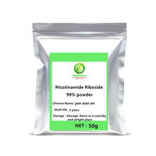 Hot sale 99% Pure NR Nicotinamide Riboside NRC supplements Chloride Powder personal health skin care face body Cellular Repair .