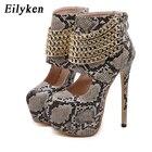 EilyKen Sexy Brown S...