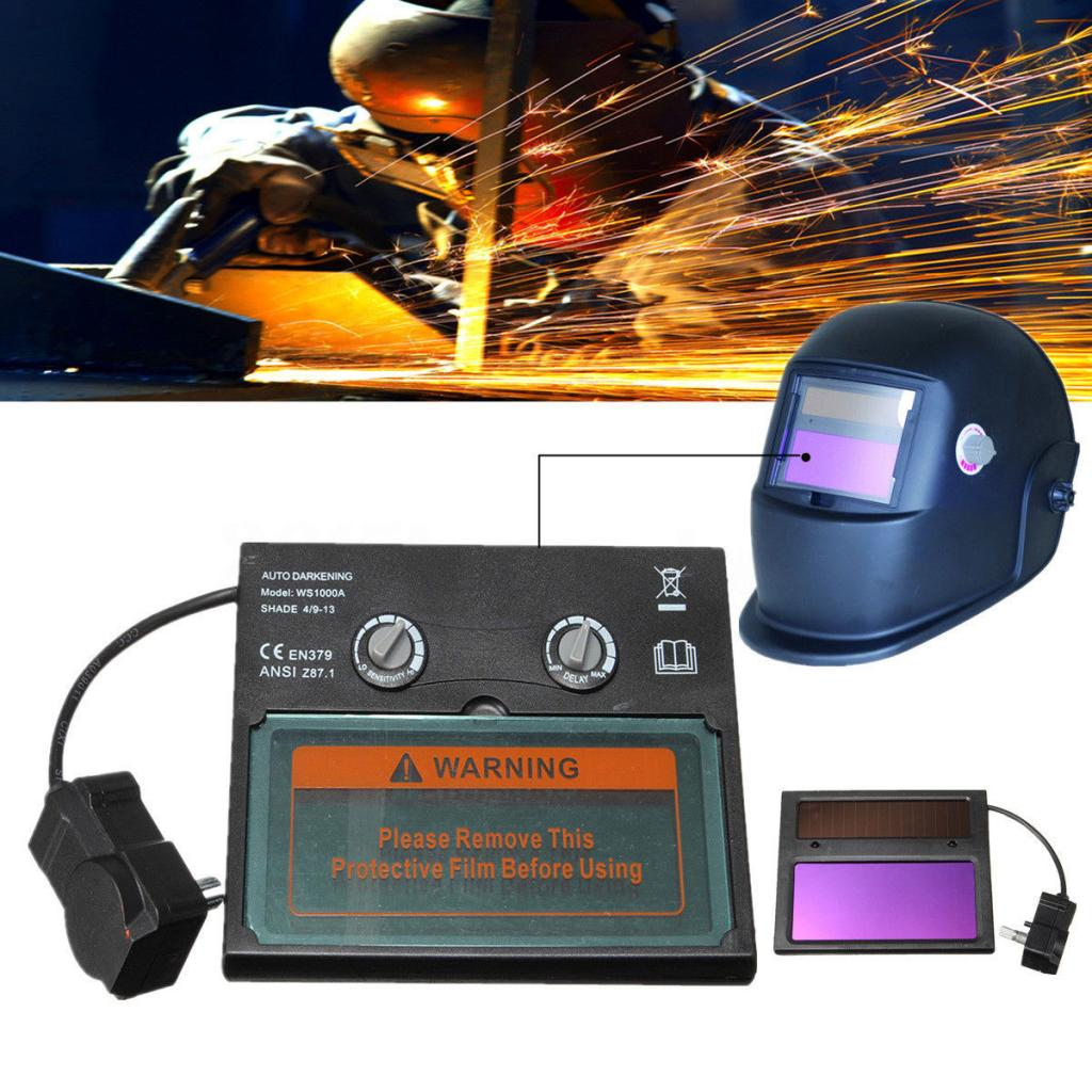 High Quality Solar Auto Darkening For Welding Helmet Mask Lens Filter Shade, Suitable For Most Kinds Of Welding Mode