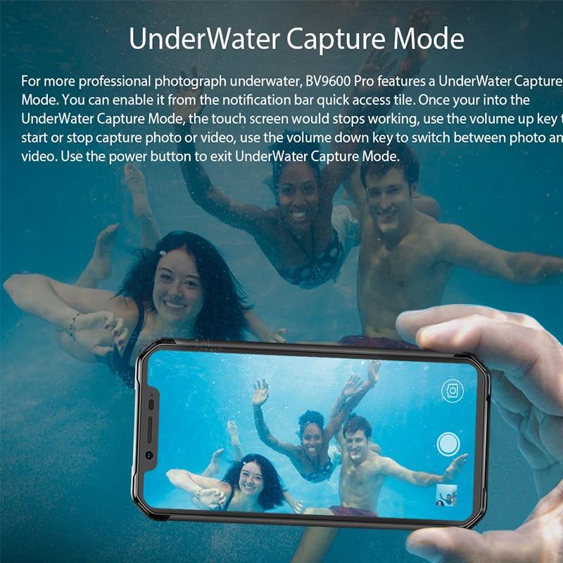 Blackview BV9600 Pro Helio P70 IP68 Waterproof Rugged Smartphone 6.21\