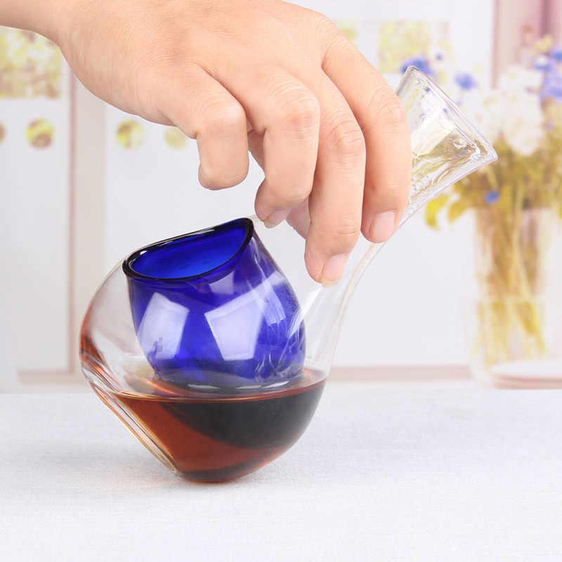 Nhật Bản Thủy Tinh Pha Lê Bình Đựng Rượu Lỗ Xỏ Ngón Cái Vì Kính Đá Bình Hamster Tổ Bình Đựng Rượu Cocktail Champagne Làm Mát Dụng Cụ