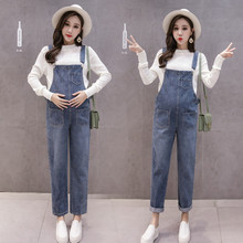 Denim Maternity Bib Jeans Trousers Pants for Pregnant Women Overalls Jumpsuits Clothes Pregnancy Uniforms Suspenders Plus Size [wheat turtle]brand maternity jeans pregnancy clothes denim overalls skinny pants trousers clothing for pregnant women plus size