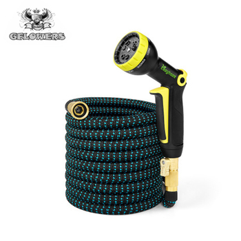 Free shipping garden expandable hose water hose magic hose garden hose Flexible car wash plastic hose with gun шланг magic hose 45m 056 f5