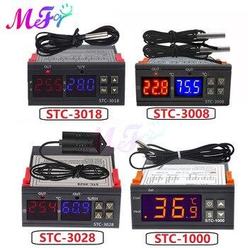 STC-1000 STC-3000 STC-3008 STC-3018 LED Digital Temperature Controller Thermostat Thermoregulator Incubator 12V 24V 110V 220V stc 1000 stc 3000 stc 3008 stc 3018 led digital temperature controller thermostat thermoregulator incubator 12v 24v 110v 220v