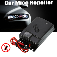 12V Car Rat Rodent Ultrasonic Repellent Rat Rodent Mice Moles Chases Chipmunks Cause Ultrasonic Repeller Pest Control Repellents     -