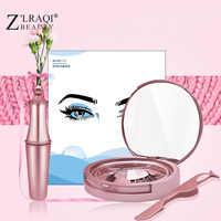 Z'LRAQI BELEZA cílios Falsos lashes cílios Postiços Maquiagem natural Magnético Magnético Tweezer Set maquiagem Conjunto Delineador Líquido