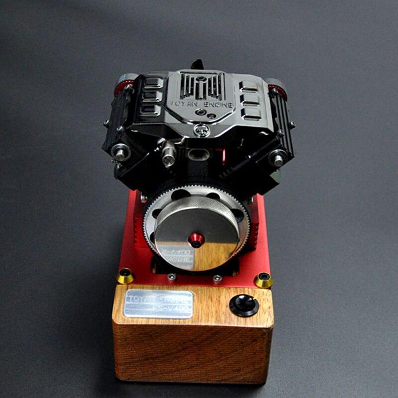 Motor de metanol de cuatro tiempos FS-V400 regalo de cumpleaños para motor V4 Tuoyan - 3