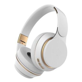 T7 Bluetooth Headphones Foldable Stereo Adjustable Earphones With Mic