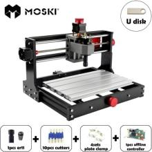 MOSKI,CNC 3018 Pro,DIY CNC Engraving เครื่อง PCB Milling,เลเซอร์แกะสลัก,GRBL ควบคุม CNC แกะสลัก,cnclaser,CNC 3018 Pro