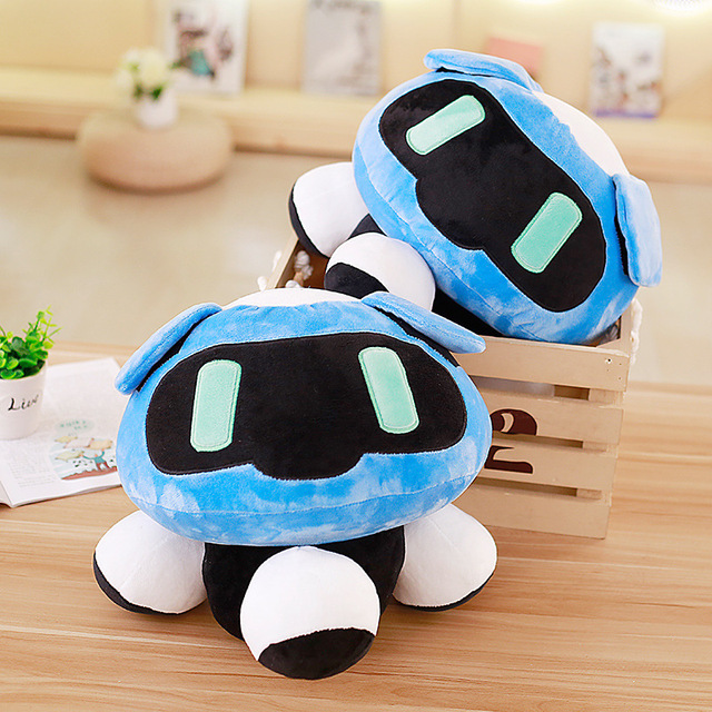 40cm Overwatches Plush Cushions Toys Overwatching Blizzcon Mei Stuffed Pillow Dolls Cartoon OW Cosplay Plush Toy Girls Boys Gift 1