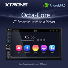 XTRONS 2 Din 7'' Android 9,0 Octa Core Universal Auto Radio Stereo-Player GPS Navigation DAB + Bluetooth OBD DVR USB KEINE DVD
