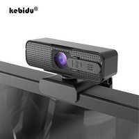 Cámara Web H701 HD USB, compatible con Autofocus, 1080P, para ordenador, Enseñanza en vivo en línea, llamadas de vídeo con micrófono