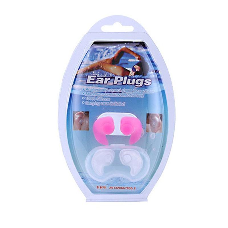 Adult Kids Swimming Earplugs Professional Waterproof High Quality Silicone Soft Children Swim Pool Ear Plug Diving Equipment