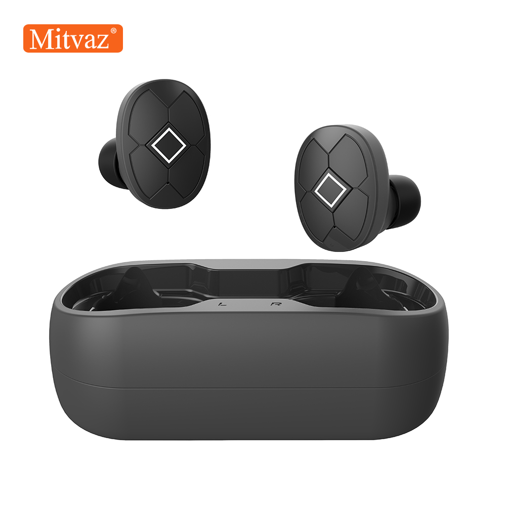 Mitvaz V5 Bluetooth 5.0 Earphone Wireless Earphones Sports Headset stereo With Dual Microphone|Bluetooth Earphones & Headphones| |  - AliExpress
