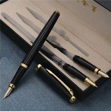 3 ב 1 עט נובע עם תיבת יום הולדת עט טוב באיכות יוקרה iraurita עטי כתיבה שונה שפיץ עוביים משלוח חינם