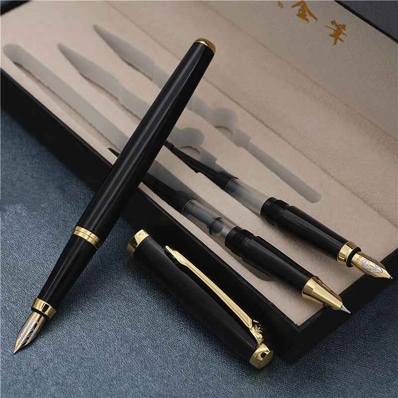 3 em 1 fountain pen com caixa de presente presente de Aniversário caneta de Boa qualidade luxo iraurita fountain pens frete grátis