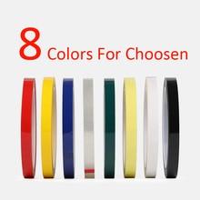 3 мм~ 100 мм широкий выбор 50 м длинный/рулон 8 цветов клейкая изолента для Электродвигатель трансформатора конденсатор обмотка на катушке анти-пламя