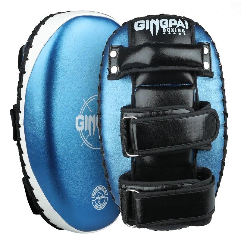 Punching Bag Boxing Pad Sand Bag Fitness Taekwondo Hand Kicking Pad PU Leather