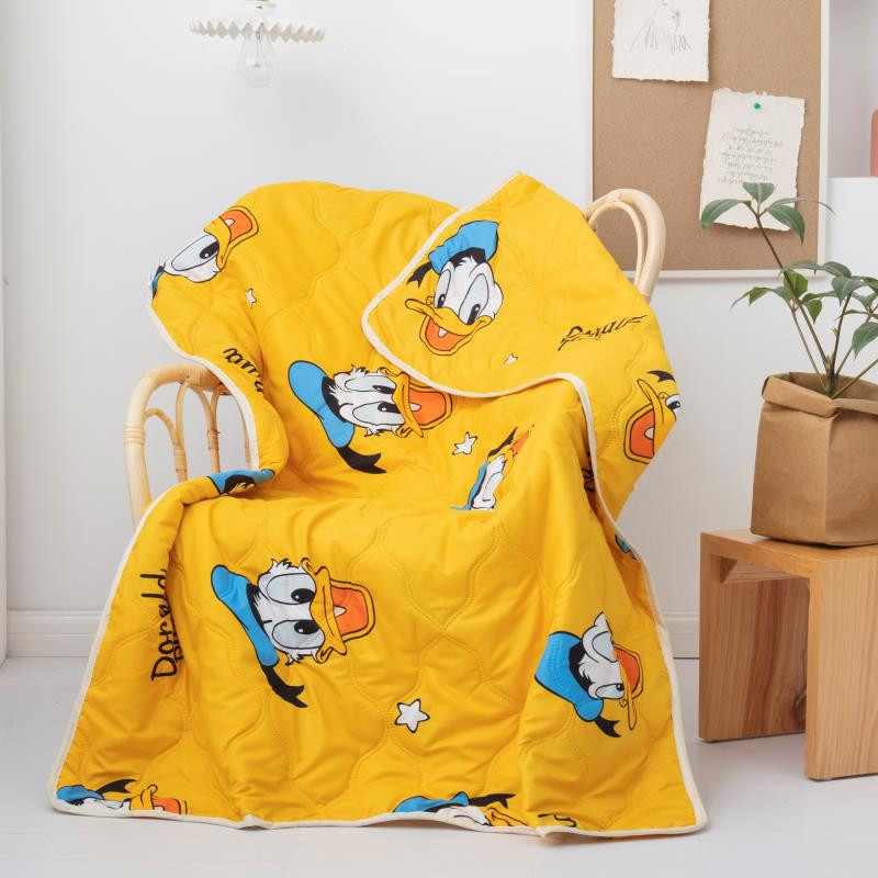 Disney Cartoon Cute Donald Duck Children Blanket Summer Quilt For Girls Boys Children Gift Throw Bedroom On Bed Sofa 110x150cm