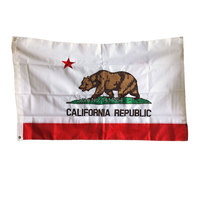 California Flag High Quality 150X90CM Decor Party Banner Oxford Outdoor Or Indoor ,free shipping