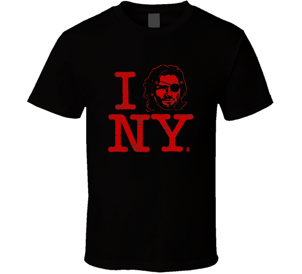 Snake Plissken Escape From New York Movie Kurt Russel T Shirt Love Gift Tee Newprinted T Shirt Men Cotton T-Shirt New Style 201 image