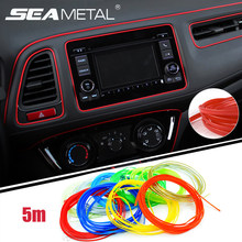 5M/lot Universal Car-Styling Sticker on Cars Interior Car Decoration M