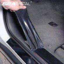 5D Автомобильная наклейка из углеродного волокна, виниловая 3D наклейка s и Переводные картинки, пленка против царапин, автомобильная дверь, багажник, бампер, протектор, аксессуары