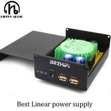 Fuente de alimentación lineal USB de 5VA, cargador de teléfono móvil cc 5V, Raspberry Pi, la mejor fuente de alimentación AMP DAC regulada, salida de DC5V TE8802L
