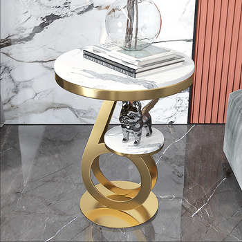 Music Notes Modeling  Luxury Marble Tea Table  1