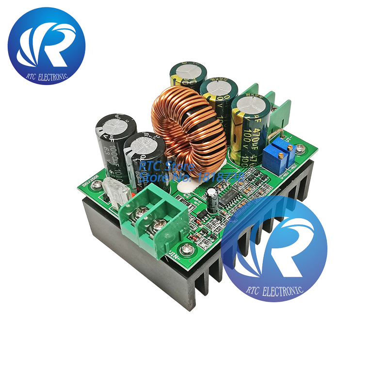 1200W <font><b>8V</b></font>-60V <font><b>dc</b></font> <font><b>dc</b></font> Boost Converter step up power supply module 20A <font><b>DC</b></font> Constant Current image