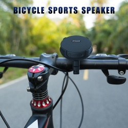 INWA Wireless Bluetooth Bicycle Portable Speaker IPX7 Waterproof Shower Outdoor Music Sound+Bike Mount