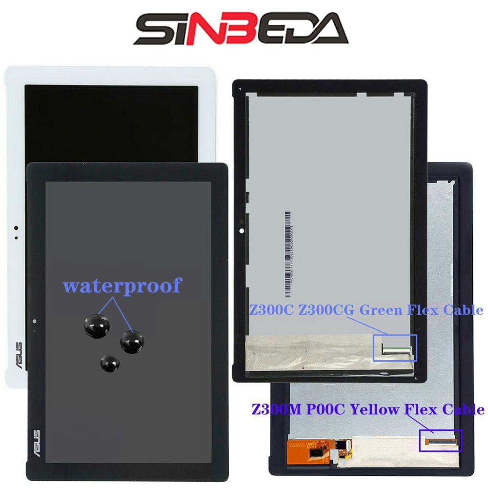 Original 10.1'' For ASUS ZenPad Z300 LCD Display Touch Screen Digitizer For ASUS ZenPad Z300C Z300CG Z300M P00C P021 Z301MFL