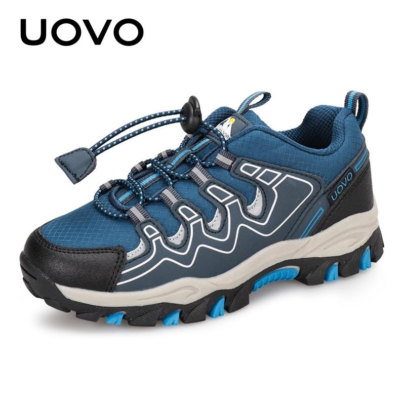 uovo 2020 novos meninos sapatos esportivos outono criancas ao ar livre sapatos respiravel criancas caminhadas sapatos