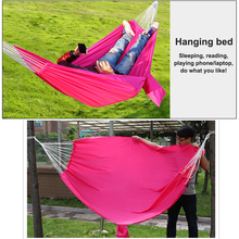Parachute Hammock Ultralight Outdoor Furniture hanging chair swing Portable Hamaca colgante camping Sleeping bed Travel Hiking