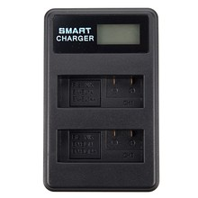 USB LCD Battery Charger EN-EL14 For Nikon D5500 D5100 D5200 D300 D3200 D3100 P7100 P7000(China)