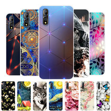 For Vivo V17 Neo Case Cases Silicone TPU Soft Back Cover Phone on V17Neo V 17 bumper