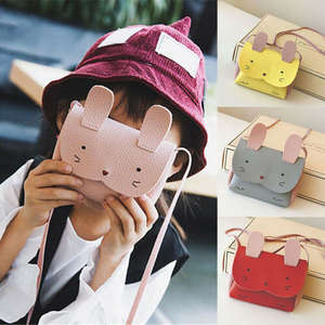 Coin-Purses Crossbody-Bag Girls Cute Rabbit Mini Messenger-Shoulder-Bag Baby Kids