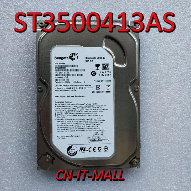Внутренний жесткий диск Seagate BarraCuda 7200,12 ST3500413AS, 500 Гб, 7200 об/мин, 16 Мб кэш-памяти, SATA 6,0, 3,5 дюйма