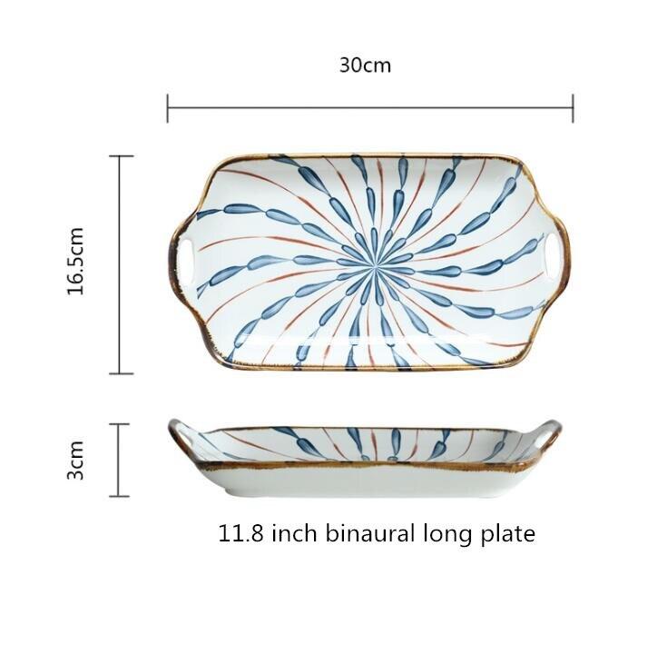 11.8inch long palte