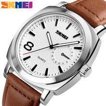 SKMEI Fashion Casual Watch Men Quartz Waterproof Wristwatches Big Dial Watch Simple Women Watches relogio masculino 1466(China)