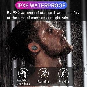 Image 5 - Bluetooth V5.0 אוזניות אלחוטי אוזניות 6D סטריאו ספורט אלחוטי אוזניות אוזניות אוזניות 4000 mAh כוח עבור iPhone Xiaomi