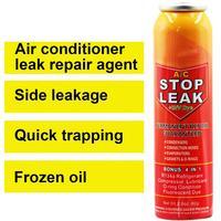 Klimaanlage Stop Leck mit PAG Öl für Klimaanlage System Fluoreszierende Leck Erkennung R134A Kältemittel Öl Leck Reparatur-in Klimaanlage aus Kraftfahrzeuge und Motorräder bei