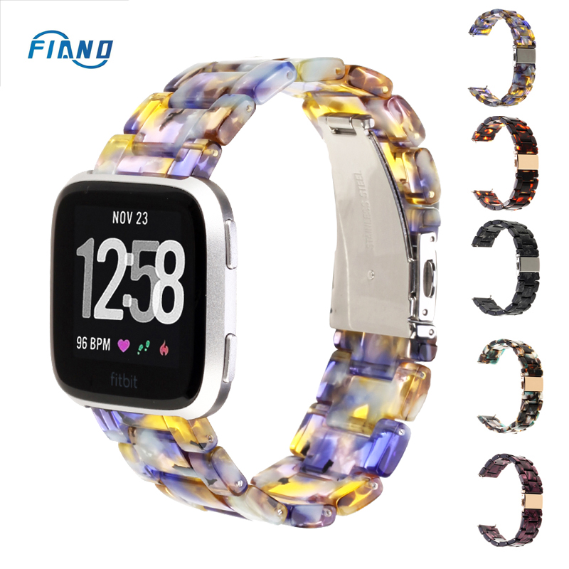 Fitbit Resin Watch Band For Fitbit Versa Band Replacement Bracelet For Fitbit Versa 2 Wrist Strap Fasion