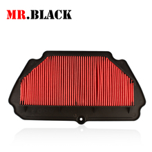 Motorcycle Air Intake Filter Cleaner For KAWASAKI ZX6R ZX 6R 2009 2010 2011 2012 2013 09 10 11 12 13
