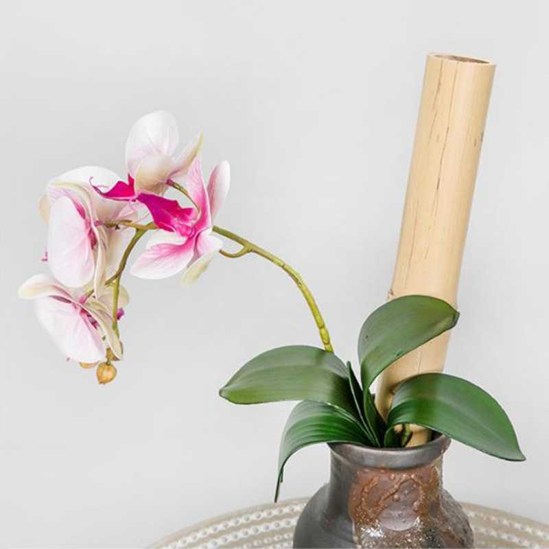 Phalaenopsis Blad Kunstmatige Plant Decoratieve Bloemen Extra Materiaal Bloem Decoratie Orchidee Bladeren Bruid Bruiloft Decor